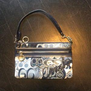 Coach mini purse/ wristlet